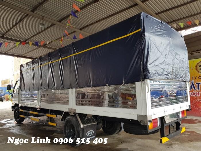 Xe tải 120sl thùng mui bạt 8 tấn thùng dài 6m3 giao xe ngay 2
