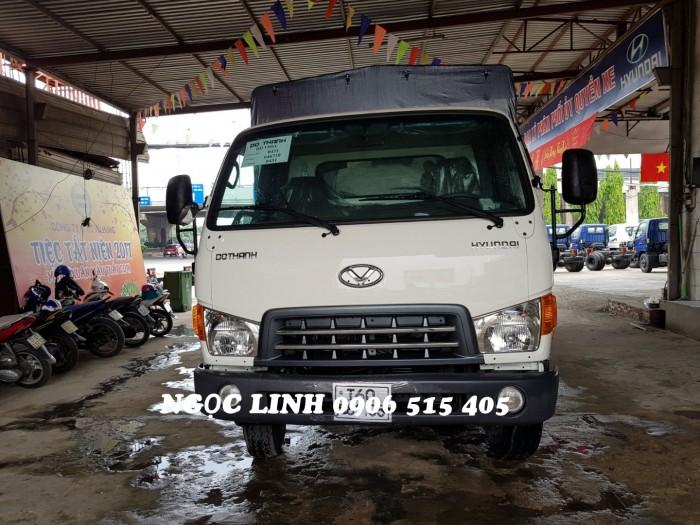 Xe tải 120sl thùng mui bạt 8 tấn thùng dài 6m3 giao xe ngay 1