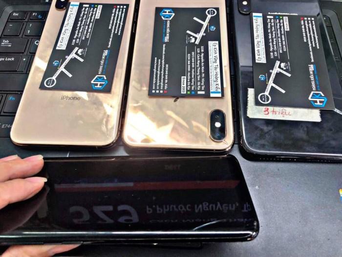 Ép Kính iPhone Xs Max Uy Tín Chất Lượng Số 1 Vũng Tàu.