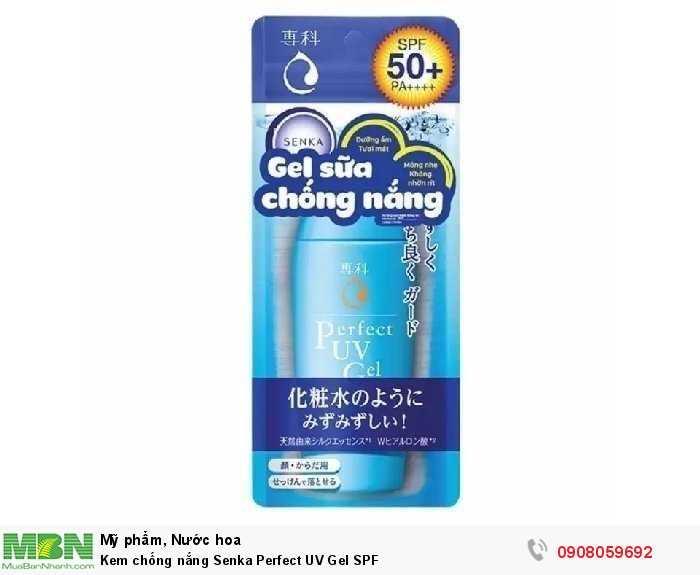 Kem chống nắng Senka Perfect UV Gel SPF2