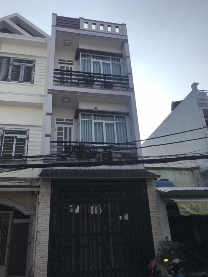 Bán Nhà Hẻm 8m Đường Lê Văn Quới ( 4x14m ) 3 Lầu