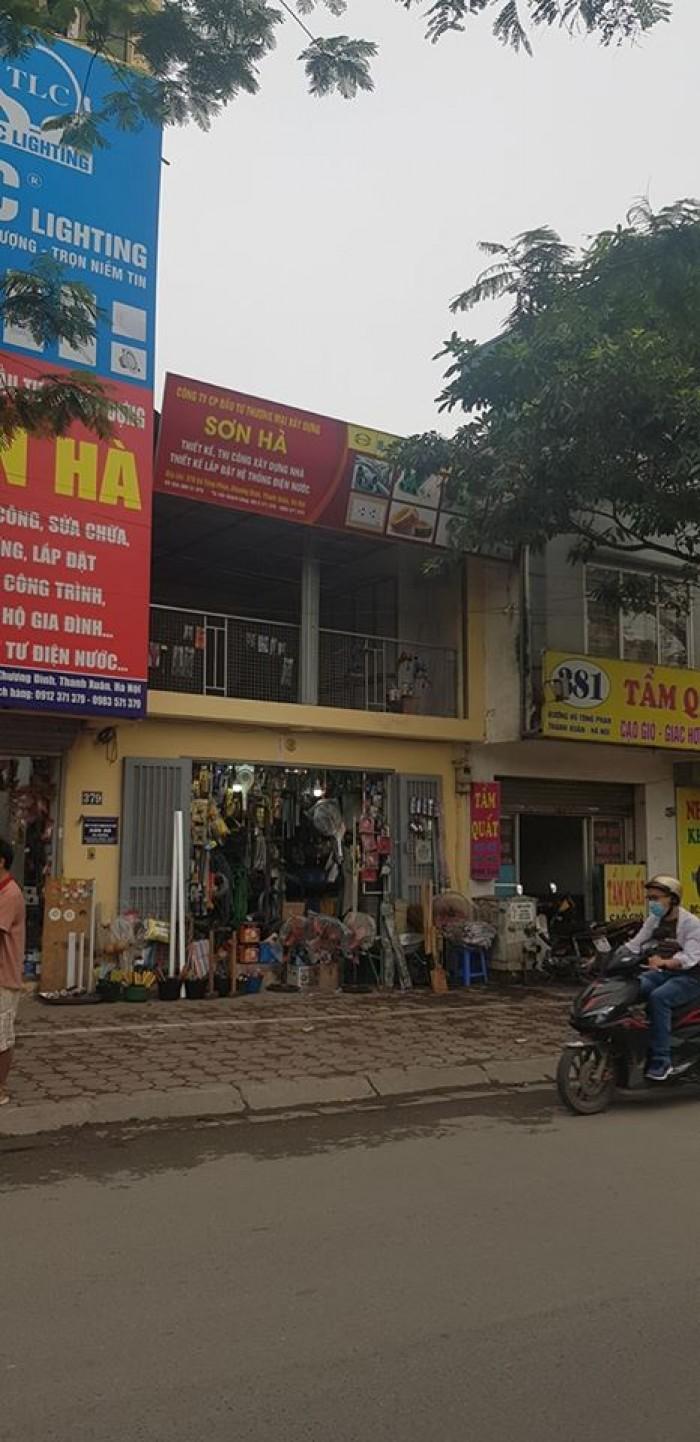 Bán gấp nhà hàng mặt phố Vũ Tông Phan,Dt 266m2,Mt7.5m,giá rẻ