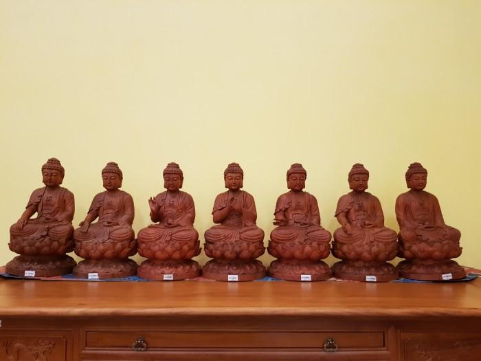 Tượng Thất Phật Dược Sư nội thất phòng thờ7