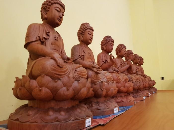 Tượng Thất Phật Dược Sư nội thất phòng thờ5