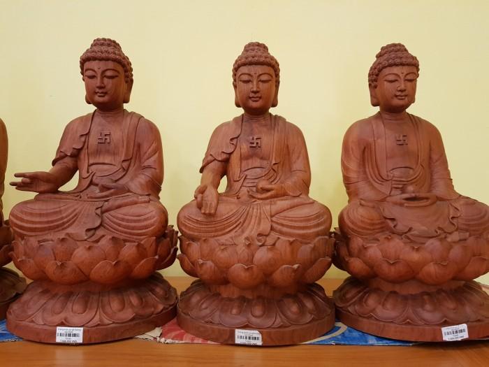 Tượng Thất Phật Dược Sư nội thất phòng thờ3