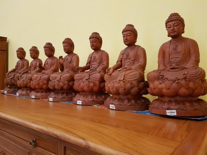 Tượng Thất Phật Dược Sư nội thất phòng thờ1
