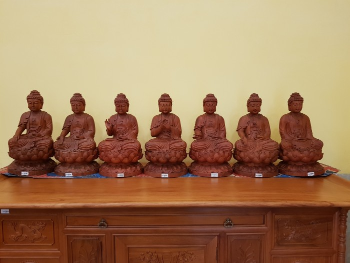 Tượng Thất Phật Dược Sư nội thất phòng thờ0