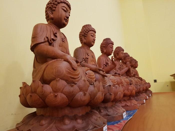 Tượng Thất Phật Dược Sư nội thất phòng thờ2