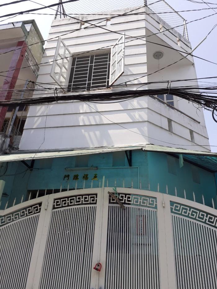 Cần bán nhà góc 2MT Phan Anh  P,Hiệp Tân Q,Tân Phú DT 4,1x8 1 trệt 2 lầu giá 3,4 tỷ