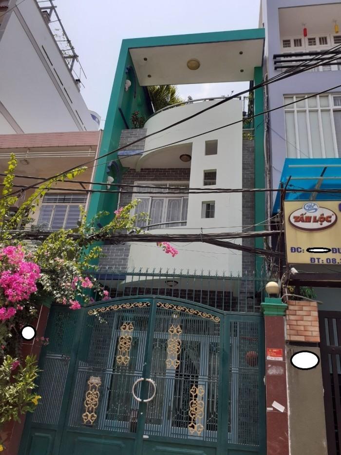 Cần bán nhà hẻm 8m thông Cầu Xéo  P,Tân Sơn Nhì Q,Tân Phú DT4.05x19  1 trệt 1 lầu ST