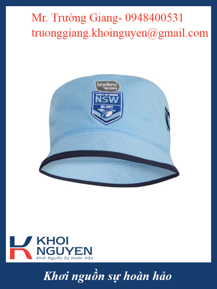 Gia công nón quảng cáo thương hiệu, nón tai bèo
