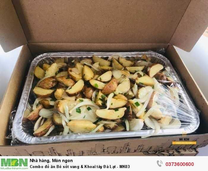 Gọi Combo đồ ăn Bò sốt vang & Khoai tây Đà Lạt - MK03 giao tận nhà