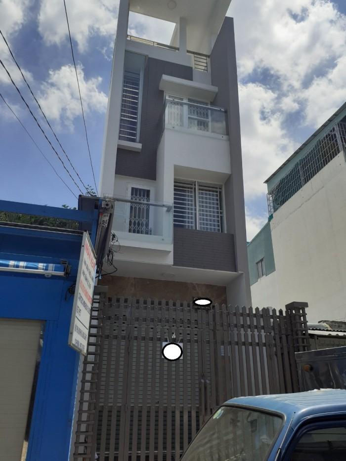 Cho thuê nhà nguyên căn  MT Lê Sao P,Phú Thạnh Q,Tân Phú  3,5x18  3 lầu st giá 21tr/th