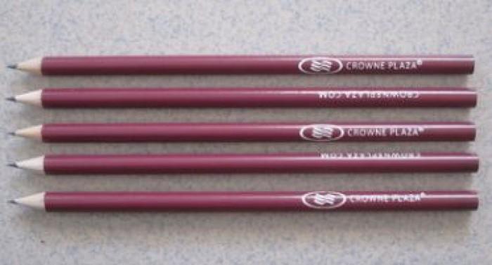 Bút chì in ấn logo thương hiệu giá rẻ.2