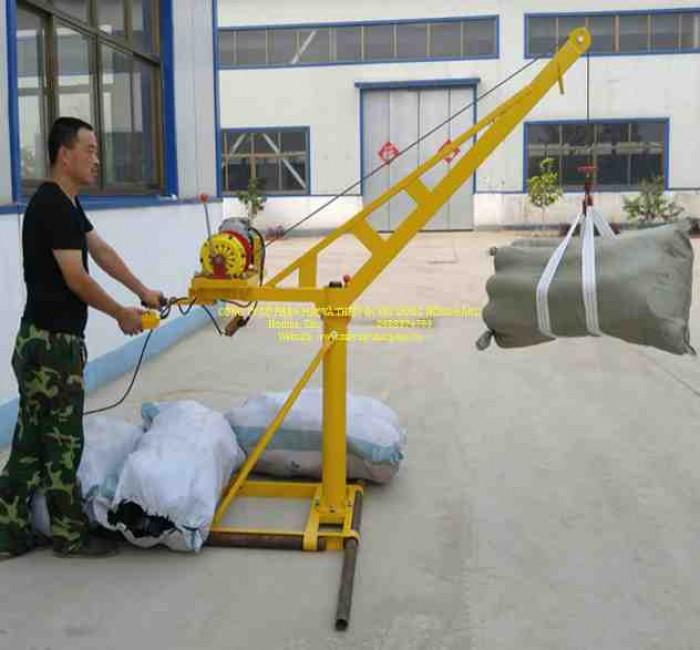 Bán tời cẩu xây dựng 500kg chạy điện 1 pha 220v1