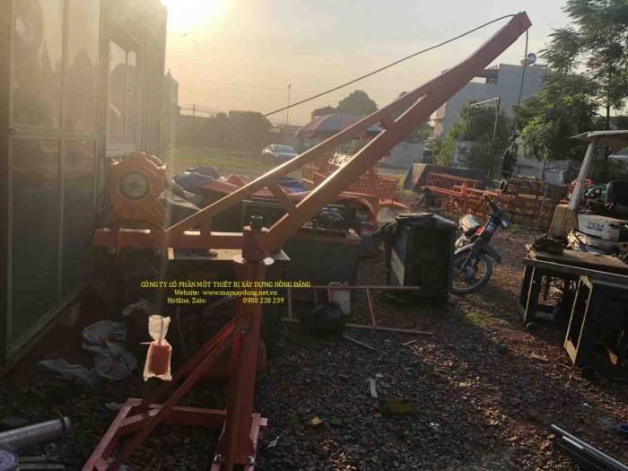 Bán tời cẩu xây dựng 500kg chạy điện 1 pha 220v3