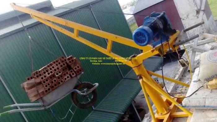 Bán tời cẩu xây dựng 500kg chạy điện 1 pha 220v5