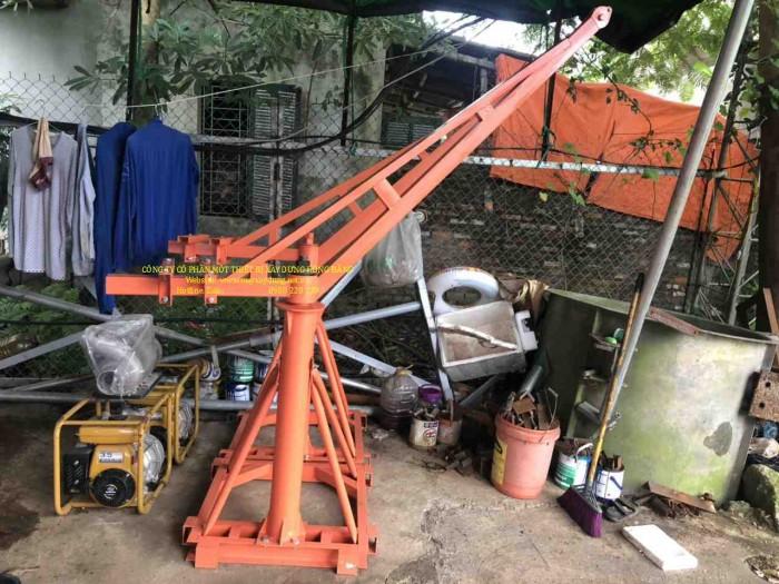 Bán tời cẩu xây dựng 500kg chạy điện 1 pha 220v4