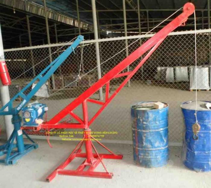 Bán tời cẩu xây dựng 500kg chạy điện 1 pha 220v2