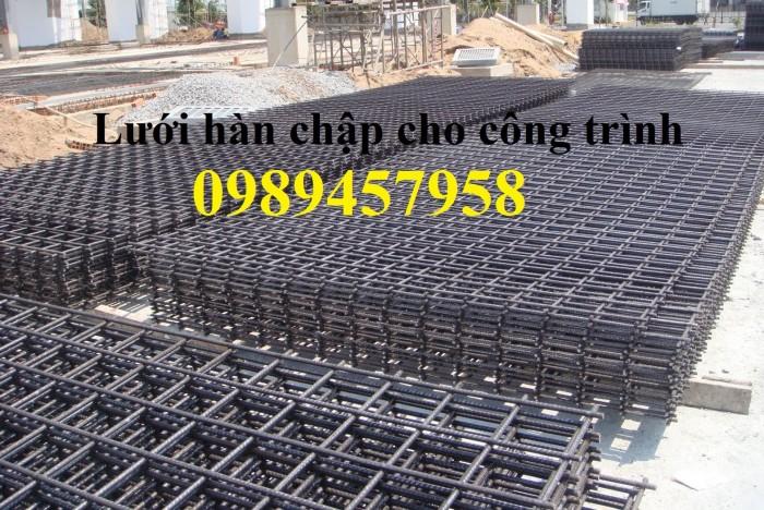 Lưới thép hàn A6 200x200, A8 200x200, A9, A10 ô 250x250 giá tốt12