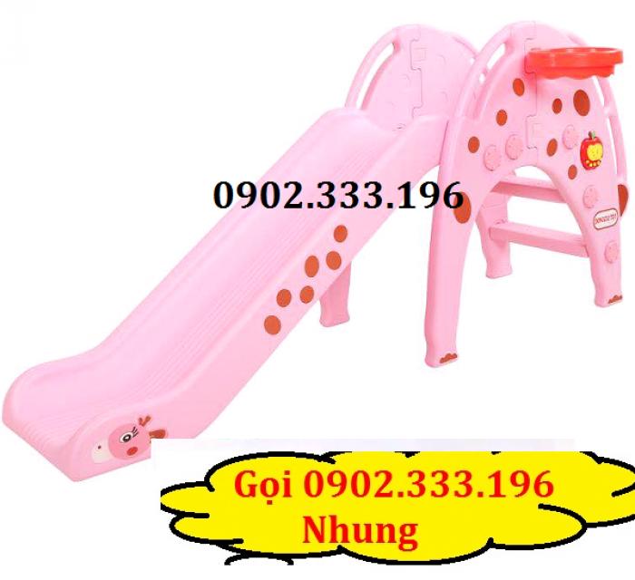 cầu trượt nhựa cho bé, đồ chơi cầu tuột5