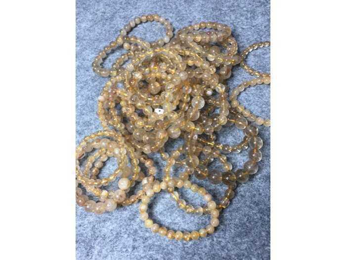 Vòng tay đá thạch anh tóc vàng ( sỉ & lẻ ib )2