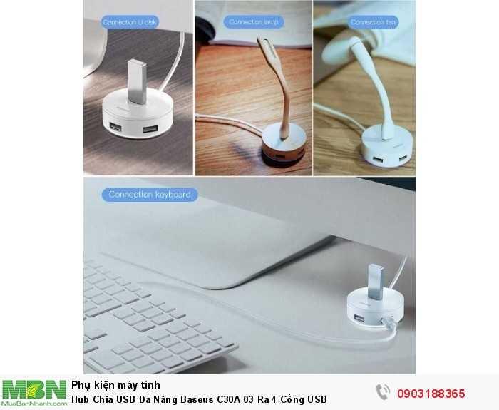 Đầu vào sản phẩm: USB Type C 3.0 Đầu ra sản phẩm: USB 3.0 x 1, USB 2.0 x 3 Tốc độ truyền USB3.0: 5Gbps (tương thích hướng xuống) Tốc độ truyền USB2.0: 480Mbps2