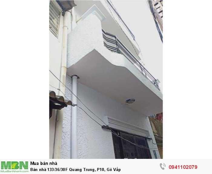 Bán nhà 133/36/30F Quang Trung, P10, Gò Vấp