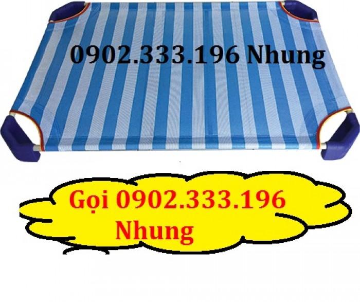 Bán giường ngủ mầm non ở phú yên, giường ngủ trẻ em phú yên giá rẻ1