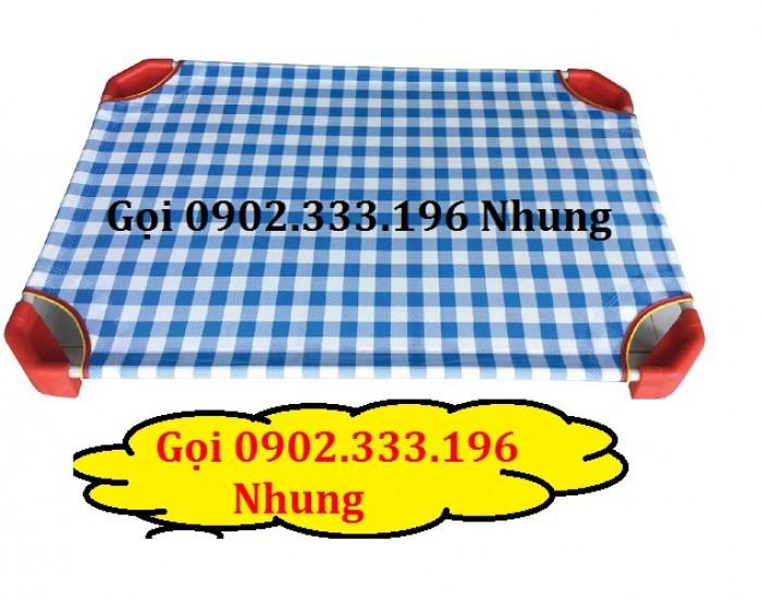 Bán giường ngủ mầm non kiêng giang giá rẻ0