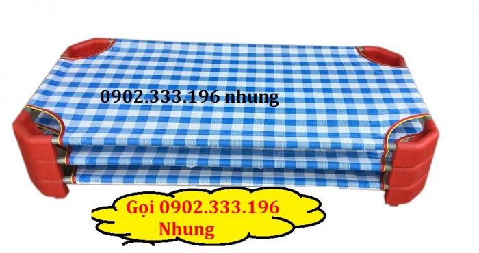 Bán giường ngủ mầm non ở phú yên, giường ngủ trẻ em phú yên giá rẻ2