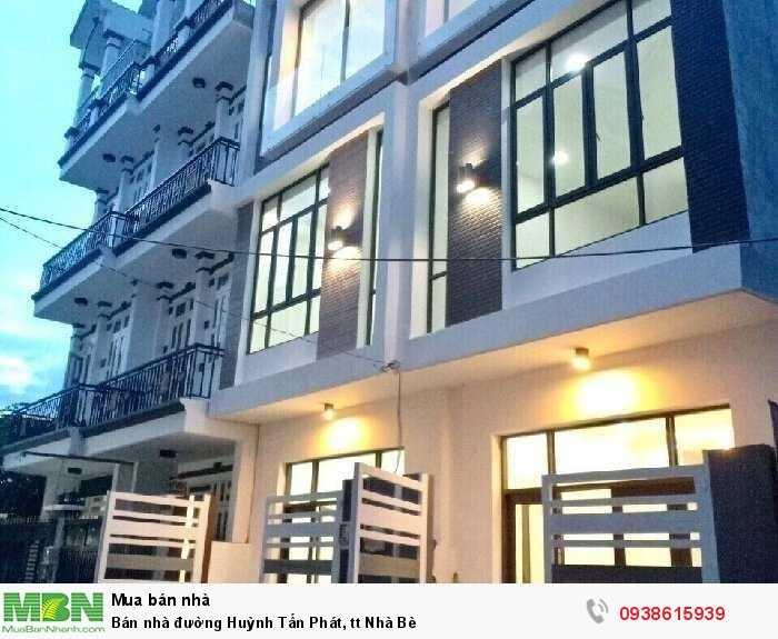 Bán nhà đường Huỳnh Tấn Phát, tt Nhà Bè
