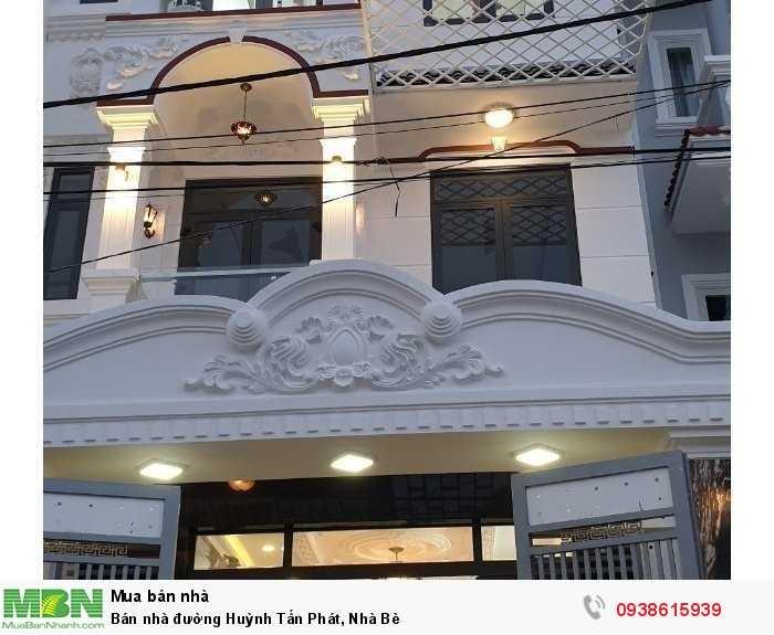 Bán nhà đường Huỳnh Tấn Phát, Nhà Bè