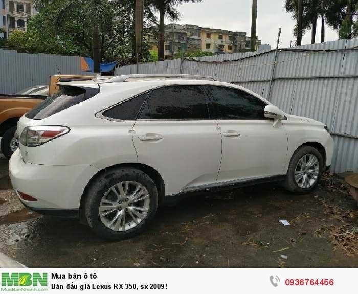 Bán đấu giá Lexus RX 350, sx 2009!
