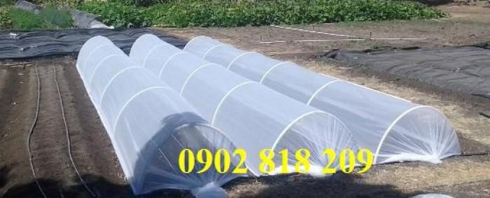 Lưới chắn côn trùng quây vườn rau sạch13