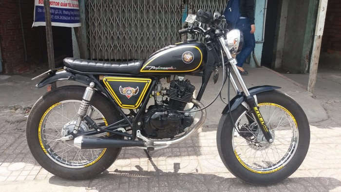 Moto gn125 up tracker