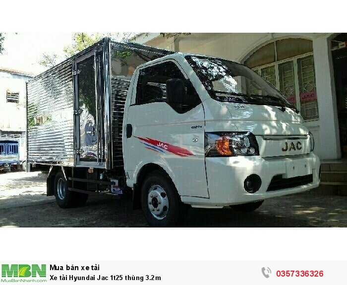 Xe tải Hyundai Jac 1t25 thùng 3.2m