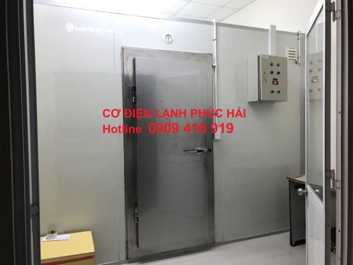 Lắp đặt kho lạnh bảo quản vacxin bệnh viện Gò Vấp