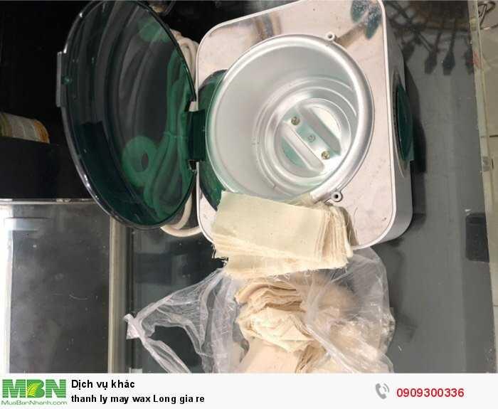 Thanh lý máy wax lông giá rẻ2