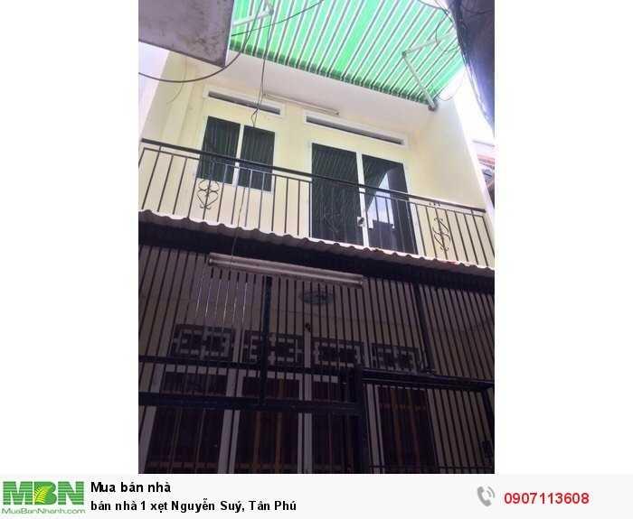 Bán nhà 1 xẹt Nguyễn Suý, Tân Phú