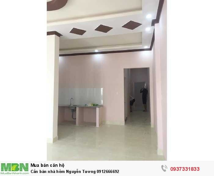 Cần bán nhà hẻm Nguyễn Tương
