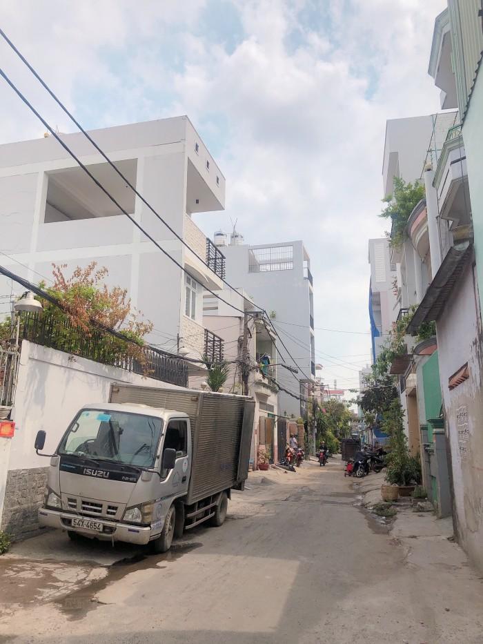 Chính chủ cần bán nhà Đường Thoại Ngọc Hầu  tổng diện tích 300m2 (8mx37m) hẻm hiện hữu 7m giá 60tr/m2