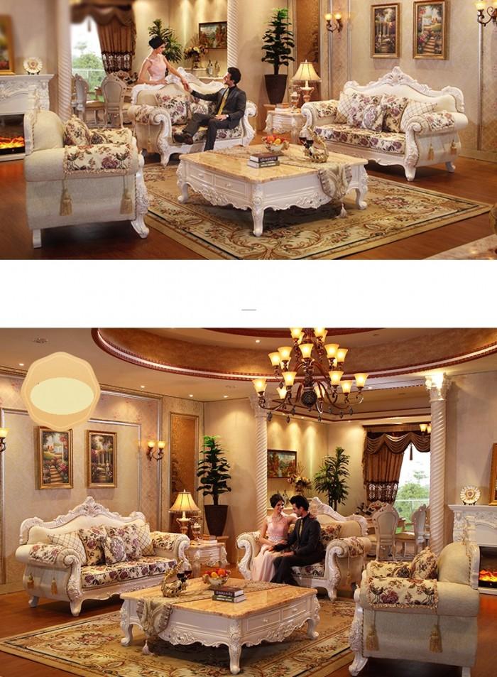 Sofa tân cổ điển giá rẻ q2 q7 - xưởng bán bàn ghế cổ điển phong cách châu âu4