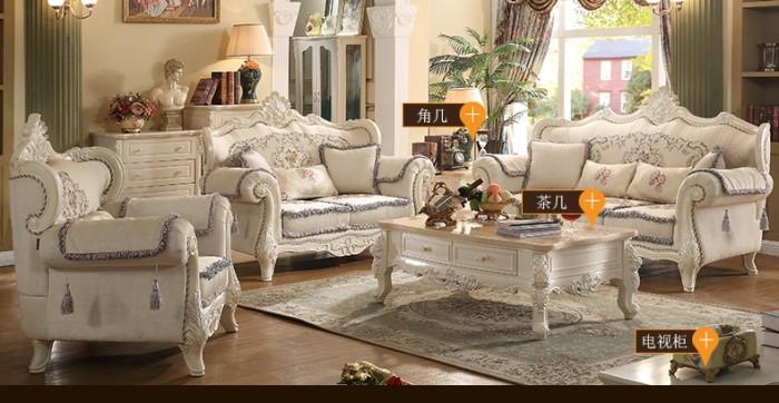 sofa cổ điển màu trắng tại Tây Ninh Bình Dương6