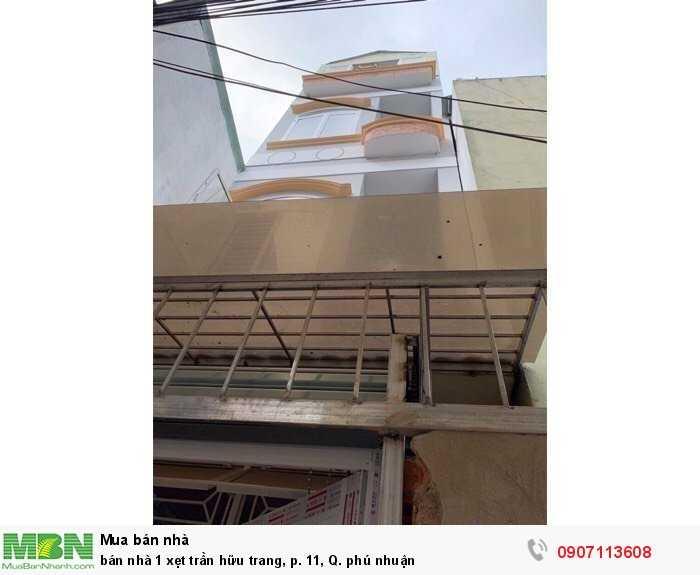 Bán Nhà 1 Xẹt Trần Hữu Trang, P. 11, Q. Phú Nhuận
