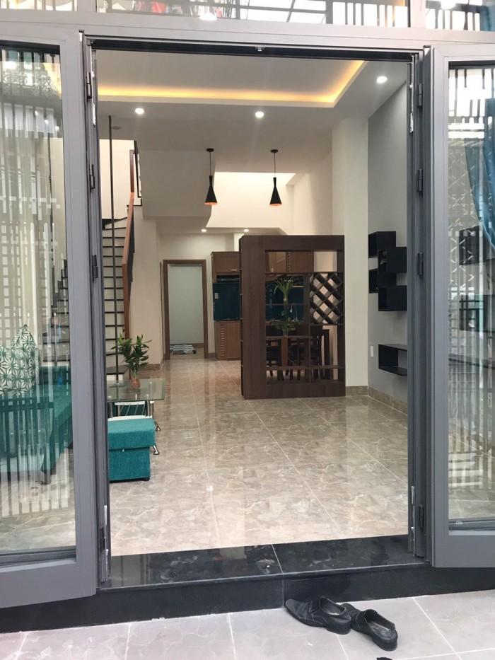 Bán nhà 2 tầng kiệt Trần Cao Vân nhà mới 100%
