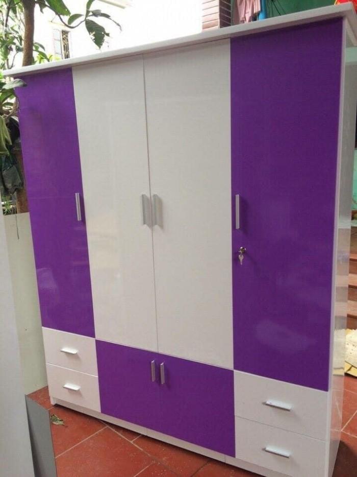 Tủ cao 180 ngang 160 sâu 45cm bao gồm 3 ngăn treo quần áo và 2 ngăn xếp.1