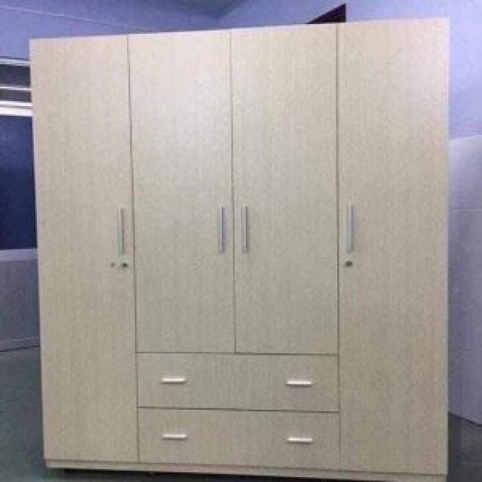 Tủ cao 180 ngang 160 sâu 45cm bao gồm 3 ngăn treo quần áo và 2 ngăn xếp.6