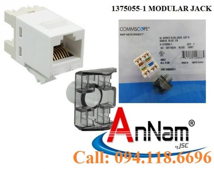 Nhân mạng Cat6 AMP RJ45 mã 1375055-16