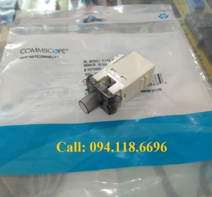 Nhân mạng Cat6 AMP RJ45 mã 1375055-13